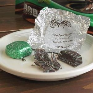 DOVEのダークチョコレー&ミントスワール