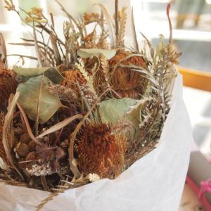 「花と暮らす特別編」気持ちを形にするお花の包み方WSを開催しました
