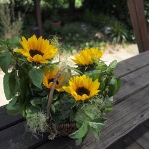 【WSのご案内 】花と暮らす~親子で楽しむ夏のバスケットアレンジ in kioracottage