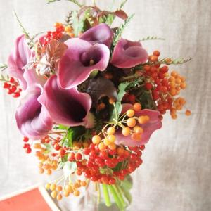 夏の終わりの、花贈り