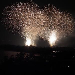 近江舞子の花火