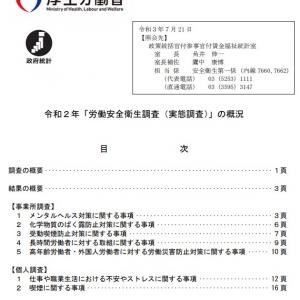 令和2年 労働安全衛生調査(実態調査) 結果の概況(その2)