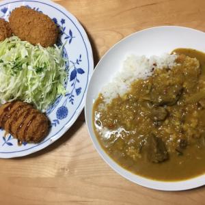 2019  経3-10  ラム肉カレー♡他、おうちごはん。