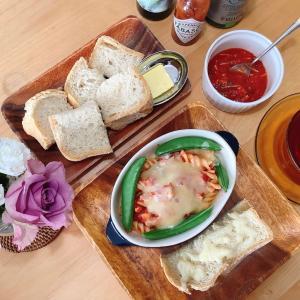 2021 経 5-1 満月♡フランス食パン&朝ごパン♡Christmas Rose&薔薇