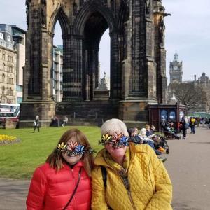 45年ぶりに 初めて会えるでしょうか、  スコットランドのペンパル