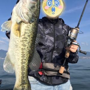 琵琶湖で初釣り