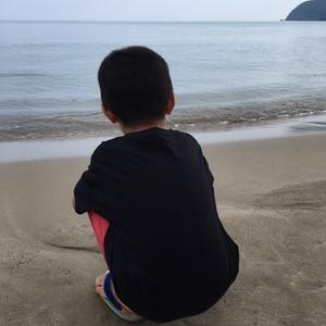 毎年恒例の鳥取の海  2日目