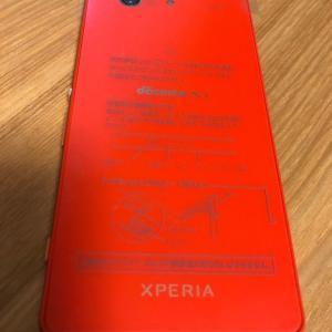 Xperia Z3 Compactのタッチ切れを無償修理しました。