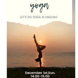 英語でyoga~Betia's yoga