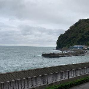 伊豆北川でボートダイビング