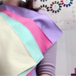 やっと似合う色についてスッキリ納得することができました! 1stブルべ夏2ndイエベ秋のお客様