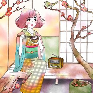 春アート♪FM79.7MHz 京都三条ラジオカフェ様1-3月のメインビジュアル