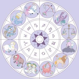 【お仕事】「anna」様の月間星占いのイラストを担当させていただきました!