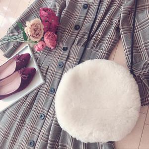 【楽天購入品】冬の特権♡もこもこムートンバッグが可愛すぎる♪