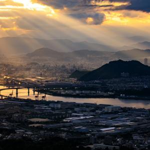 広島市夜景 -2021.8.28-
