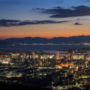 広島市夜景 -2021.8.29-