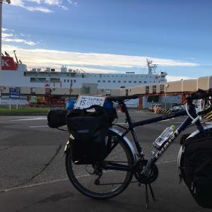 【15日目】雨男が自転車で日本縦断@苫小牧〜札幌