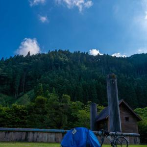 【4日目】雨男が自転車で日本縦断2@姫路〜宍粟