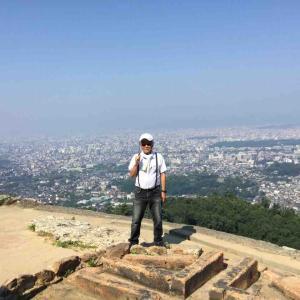 京都送り火で有名な大文字山に登りました