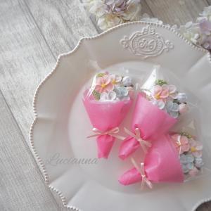 お花絞りミニブーケ