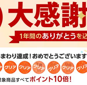 【完走】2020年12月大感謝祭で購入した商品の紹介!