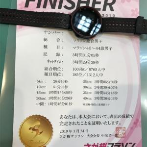 【遅報】さが桜マラソン2019
