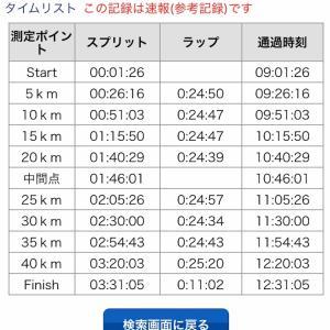 さが桜マラソンレポ②〜スタートから30キロまで〜