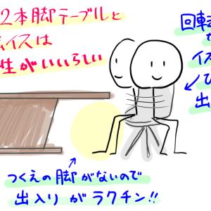 【家具】新テーブルがきたぞ!ダイニングを全部買い替え!【その3】