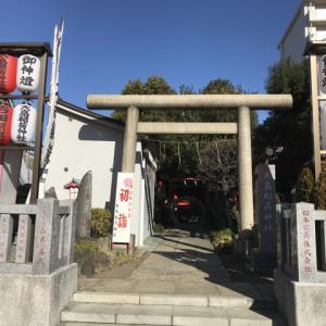 大島稲荷神社  (東京都江東区大島5丁目39−26)、2019-1-19