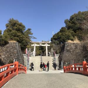武田神社  (山梨県甲府市古府中町2611)、2019-2-15