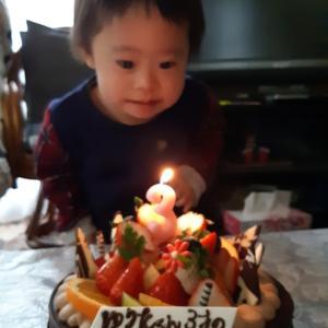 3歳になりました