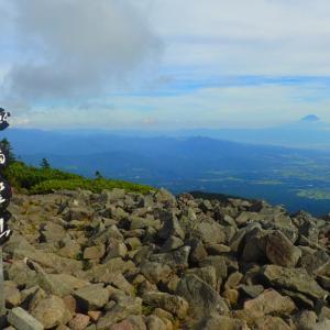 網笠山 八ヶ岳最南端の山に登山
