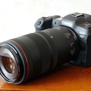 EOS R5用のマクロレンズ、RF100mm F2.8が届きました。
