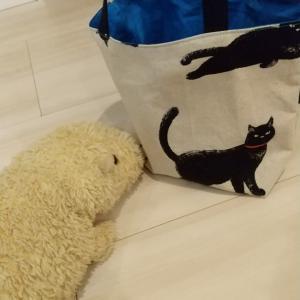 猫柄バッグ