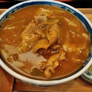 お肉たっぷりカレーうどん@長寿庵 小倉台店
