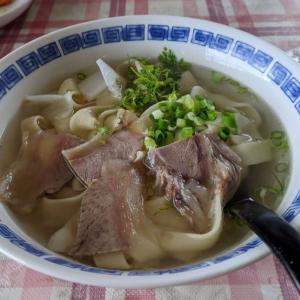 中国の麺打ちが拝める貴重なお店@蘭州牛肉麺 その2