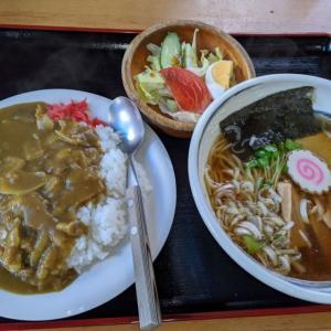 魅力的な麺セット@みどり食堂