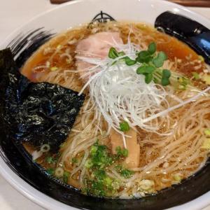 細麺がキラキラ美しいおゆみ野のラーメン屋さん@麺屋 侍