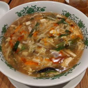 担々麺だけでなく酸辣湯麵も絶品でした@ぷんぷくまる そごう千葉店 その4