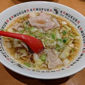 唐揚げとおいしいラーメンで大満足セット@どうとんぼり神座 ペリエ千葉店