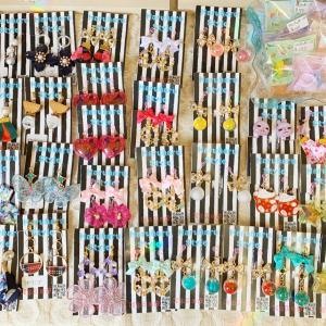 可愛いキッズイヤリングが、たくさん届いています☆【雑貨カフェ 佐賀県唐津市】