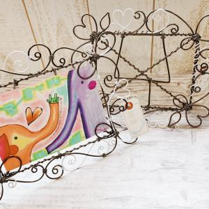 フォトフレームとカフェのハンドメイド雑貨コーナーご紹介☆ 【雑貨カフェ/佐賀県委託販売】