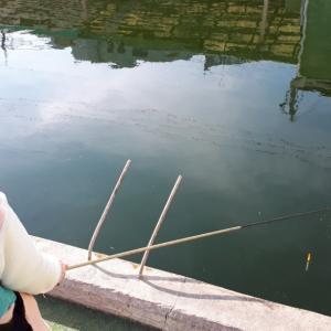 ■■釣りガール 初釣り