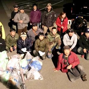 ●●第14回 豊浜釣り桟橋ゴミ拾い活動