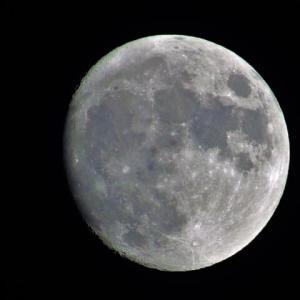 今夜の月(十三夜) と 紅葉の始まり