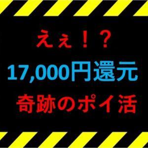 【え…上がり過ぎ?】17,000円還元の奇跡のポイントアップ!大量JALマイル獲得!!陸マイラー待望の案件がありえないくらいの高還元をむかえています