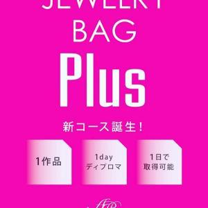 New❣️ 1dayディプロマ【JEWELRY BAG Plus】クラッチバッグコース