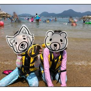 天城ふるさと広場でお気楽!海水浴キャンプ