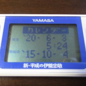 今日は測量の日