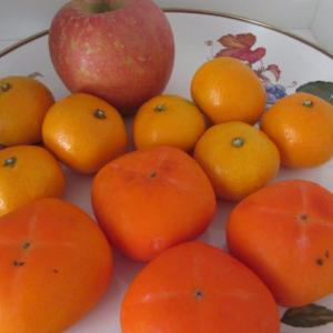 今日は柿の日。
